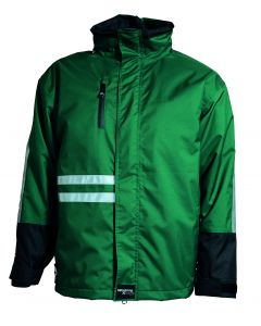 WORKING XTREME Green VINTER JAKKE -regntøj