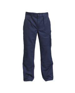 Navy blå 100% bomulds bukser