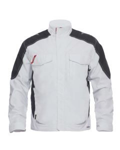 Galaxy F-engle Arbejdsjakke i hvid med sort skuldre