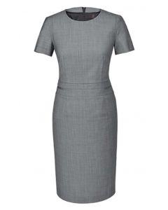 Modern 37,5 kjole med stretch - Lys grå