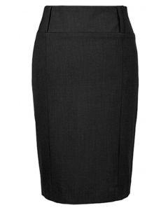 Sort nederdel med bred taljebånd - Premium-RESTSALG