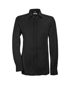 Sort slim fit herreskjorte 'Modern 37.5' - Str 41/42 RESTSALG