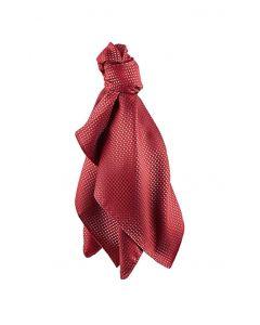 Rød og Grå ternet dame sjal