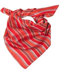 Dame Tørklæde / sjal rød stribet