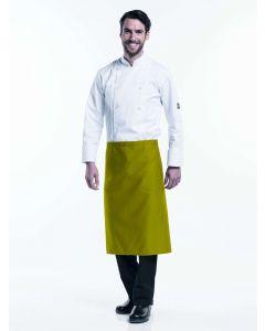 Oliven farvet forstykke 70cm langt BSX