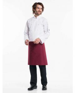 Burgundy farvet forstykke 50cm langt BSX