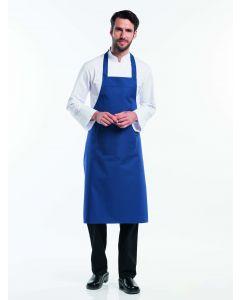Vindrue blå farvet forklæde