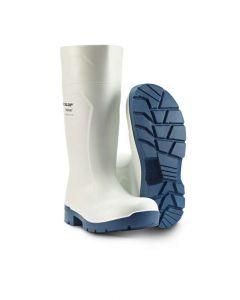 Hvid skridsikre gummistøvler