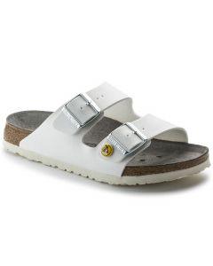 Hvid Birkenstock ARIZONA sandal - ESD alm. pasform
