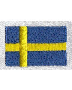 Brodering af Svenske flag 2stk