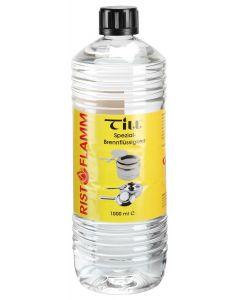 Brændervæske, alkoholdbaseret til chafing dish - 1L flaske