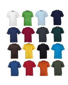 Sof tee T-shirt, perfekt til tryk- og logo broderi