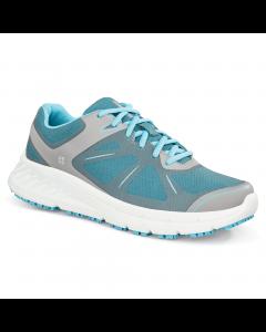 Vitality II - Blå og hvid skridsikker sko