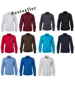 Farve valg i dameskjorte