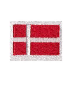 Brodering af Dannebrog flaget 2stk