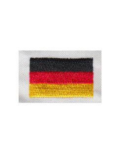 Brodering af det Tyske flag 2stk
