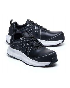 COLLY -Sort og hvid Sikkerhedssko -Shoes for crews