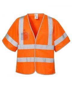 Kortærmet refleksvest - Orange