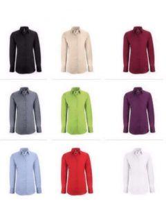 Dame stretch skjorte Regular Fit div. farver