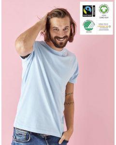 Kortærmet Unisex t-shirt i Økologisk fairtrade bomuld -valg i 9 farver