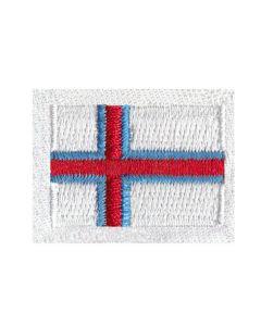 Færøsk flag i broderi