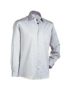 JN061 Skjorte Lys grå - Str Medium