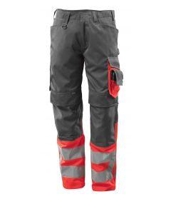 MASCOT® Leeds | Røde Bukser med CORDURA®-knælommer, kl. 1 | MASCOT® SAFE SUPREME