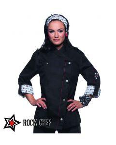 ROCK CHEF Dame kokkejakke