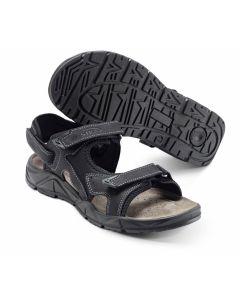 Sort Sandal 'Motion' med aftagelig hælrem - RESTSALG STR 36 OG 37