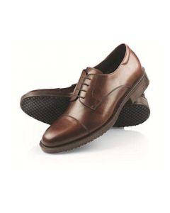 Senator brun læder herresko