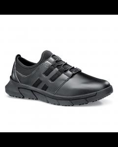 Karina -skridsikker sko med elastik -Sort