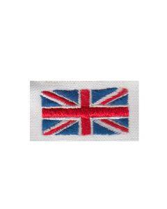 Brodering af det Engelske flag 2stk