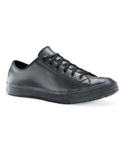 Delray læder - skridsikre Sort sko UNISEX