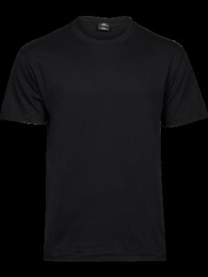 Sort t-shirt egnet til logotryk