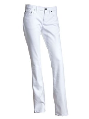 Harmony stretch Jeans damebuks - Valg i sort og hvid model
