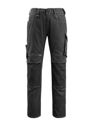 Sorte Bukser med knælommer MANNHEIM | MASCOT® UNIQUE