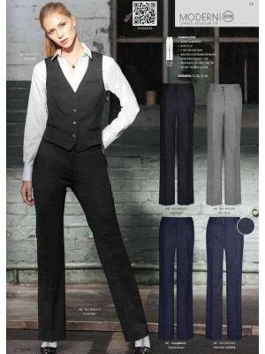 Sorte Dame bukser, stretch -høj talje 'Modern 37.5'