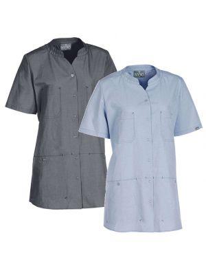 Dame tunika i Bæredygtigt materiale- skjorte NYBO - Valg i 2 farver