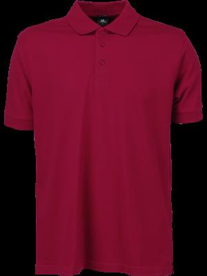 Deep red 'rød' farvet Polotrøje