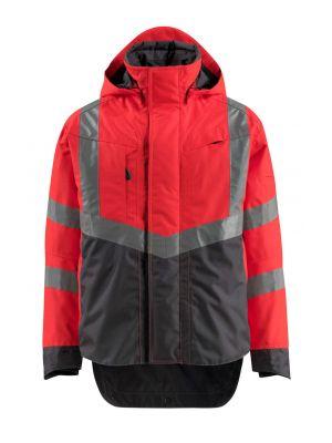 Rød refleks Skaljakke HARLOW   MASCOT® SAFE SUPREME