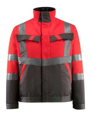 FORSTER | MASCOT® SAFE LIGHT -rød refleksjakke str large