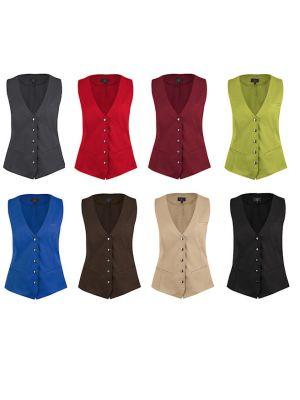 Dame Tjenervest i 8 forskellige farver