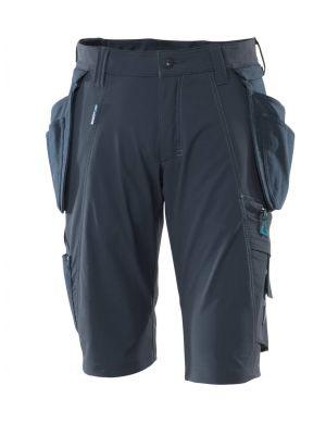 Shorts m. stretch MASCOT® ADVANCED Navy farvet