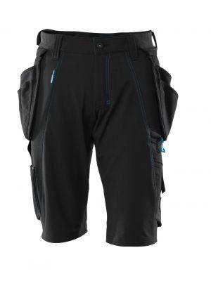 Shorts m. stretch MASCOT® ADVANCED Sorte