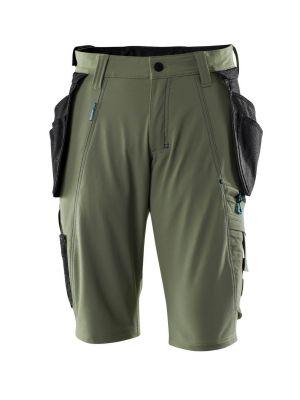 Gartner grønne Shorts m. stretch MASCOT® ADVANCED