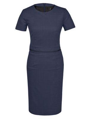 Modern 37,5 kjole med stretch - Mørke blå