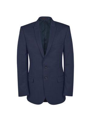 Mørke blå blazer jakke - Alm. pasform