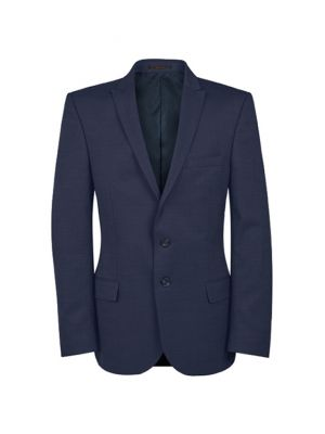 Slim fit herre blazer jakke i mørkeblå