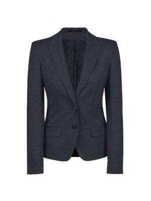Sort slimfit dame blazer jakke