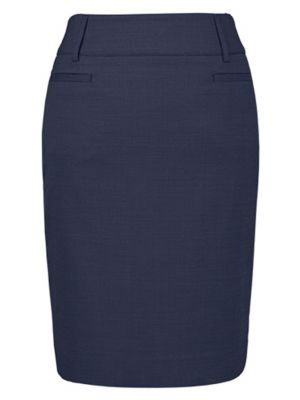 Mørkeblå moderne dame nederdel